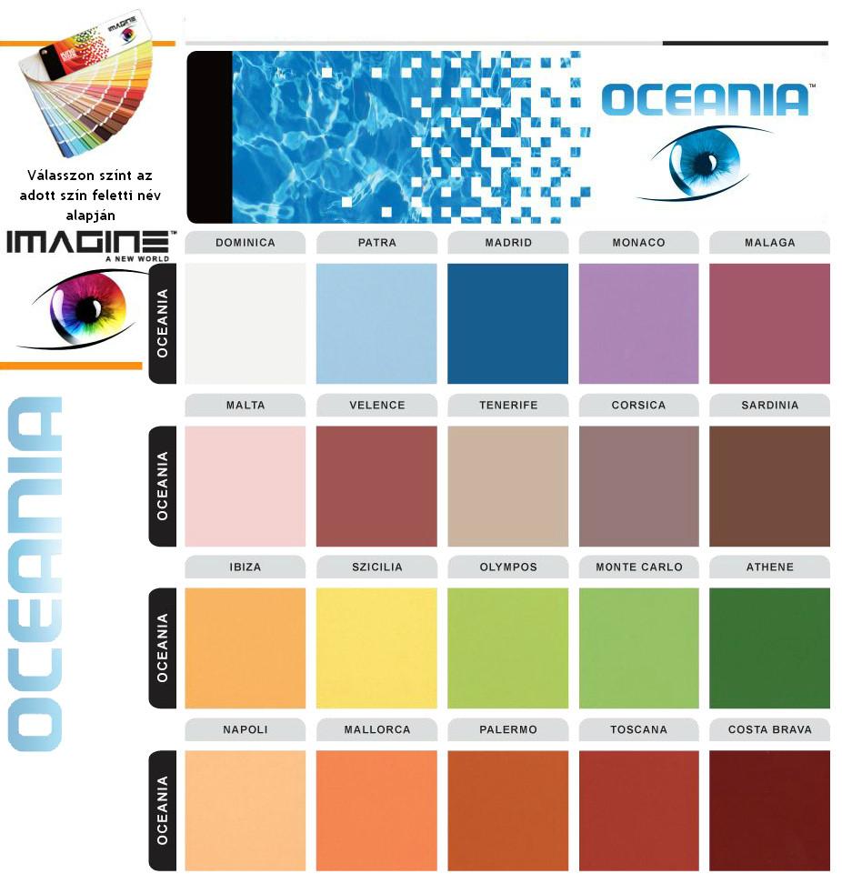 Oceania színek