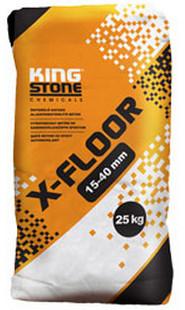 X-Floor önterülő aljzatkiegyenlítő beton